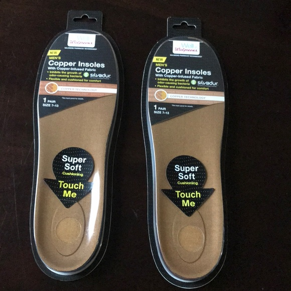 14549ada5c copper insoles Other | Walgreens Copper Insole With Copper Infused ...